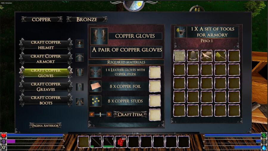 Copper Gloves