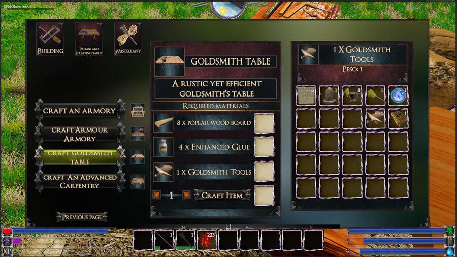 Goldssmith Table