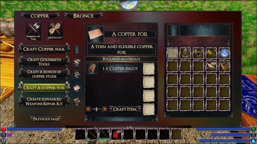 A Copper Foil
