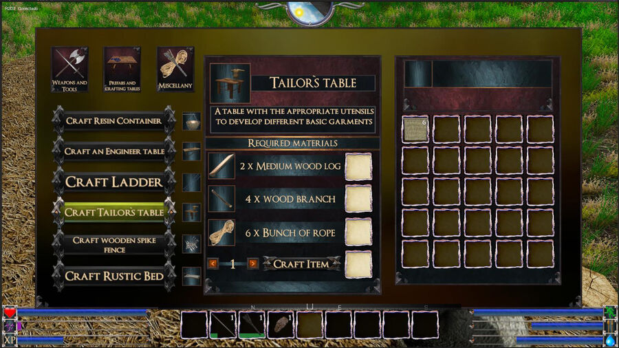 Tailor`s Table