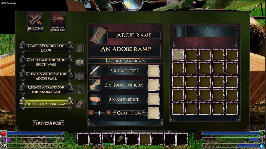 An Adobe Ramp