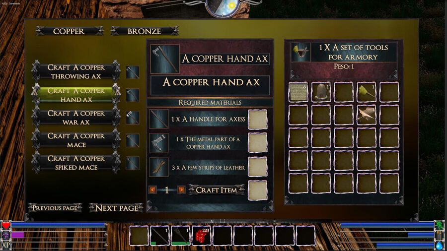 A Copper Hand Ax