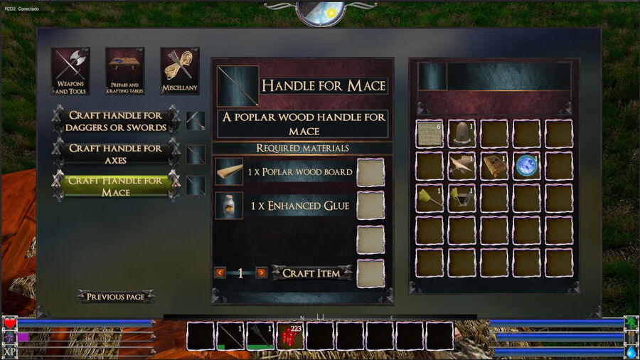 Handle For Mace