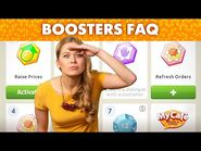 Boosters in My Cafe- Answers to FAQ