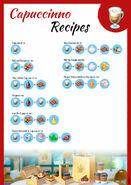 Recipes Cappuccino