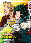 My Hero Academia Staffel 4 Poster 1