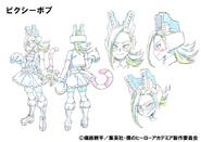 Pixiebob Anime Design