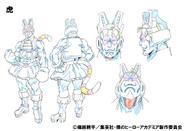 Tiger Anime Design
