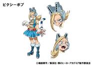 Pixiebob Anime Design Colored