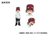 Kouta Anime Design Colored