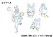 Ragdoll Anime Design