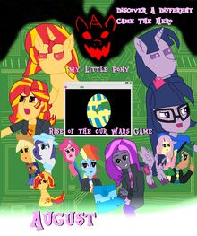 My Little Pony Rise of the Our Wars Game Movies Poster.jpg