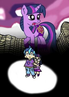 My Little Pony The Movie Poster Two Children I wish you.jpg