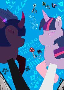 My Little Pony New Harmony Rainbows Rainbows is Magic Ova 1 Poster .jpg
