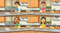 Mario in Wii Party minigame