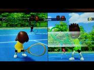 Ben Daw Syd Ram Play Tennis