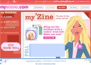Ms website myzine homepage