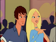 Barbie and River looking at Chelsea