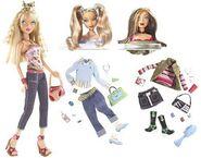 My Scene Swappin' Styles Barbie Doll