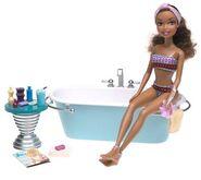 Getting Ready in my tub
