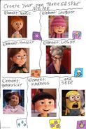 Despicable Me Mane 6 and Spike Meme
