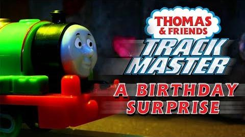 A Brilliant Birthday Surprise Thomas & Friends TrackMaster Playing Around with Thomas and Friends