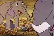 Chip 'n Dale Rescue Rangers An Elephant Never Suspects Sound Ideas, ELEPHANT - ELEPHANT TRUMPETING, THREE TIMES, ANIMAL-1