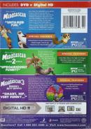 MadagascarDVD+DigitalHD+3 Movies
