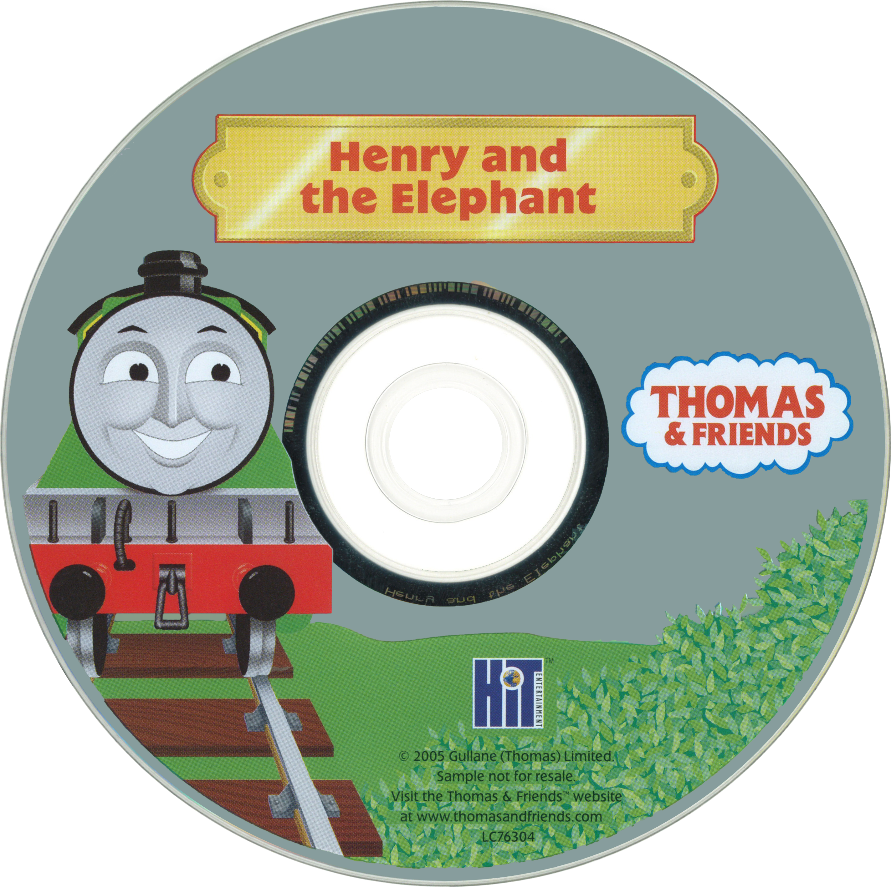 Henry and the Elephant (Take Along DVD)