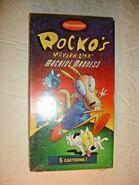 Rocko's Machine Madness VHS