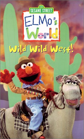 Elmo's World Wild Wild West 2001 DVD