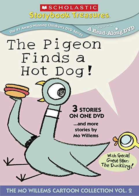 The Pigeon Finds a Hot Dog 2011 DVD