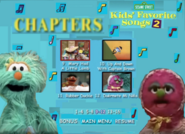 Kids Favorite Songs 2 DVD 2001 Menu Rare Go to Your Favorite Part3