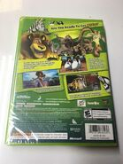 Madagascar Escape 2 Africa (video game) back cover