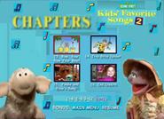 Kids Favorite Songs 2 DVD 2001 Menu Rare Go to Your Favorite Part4