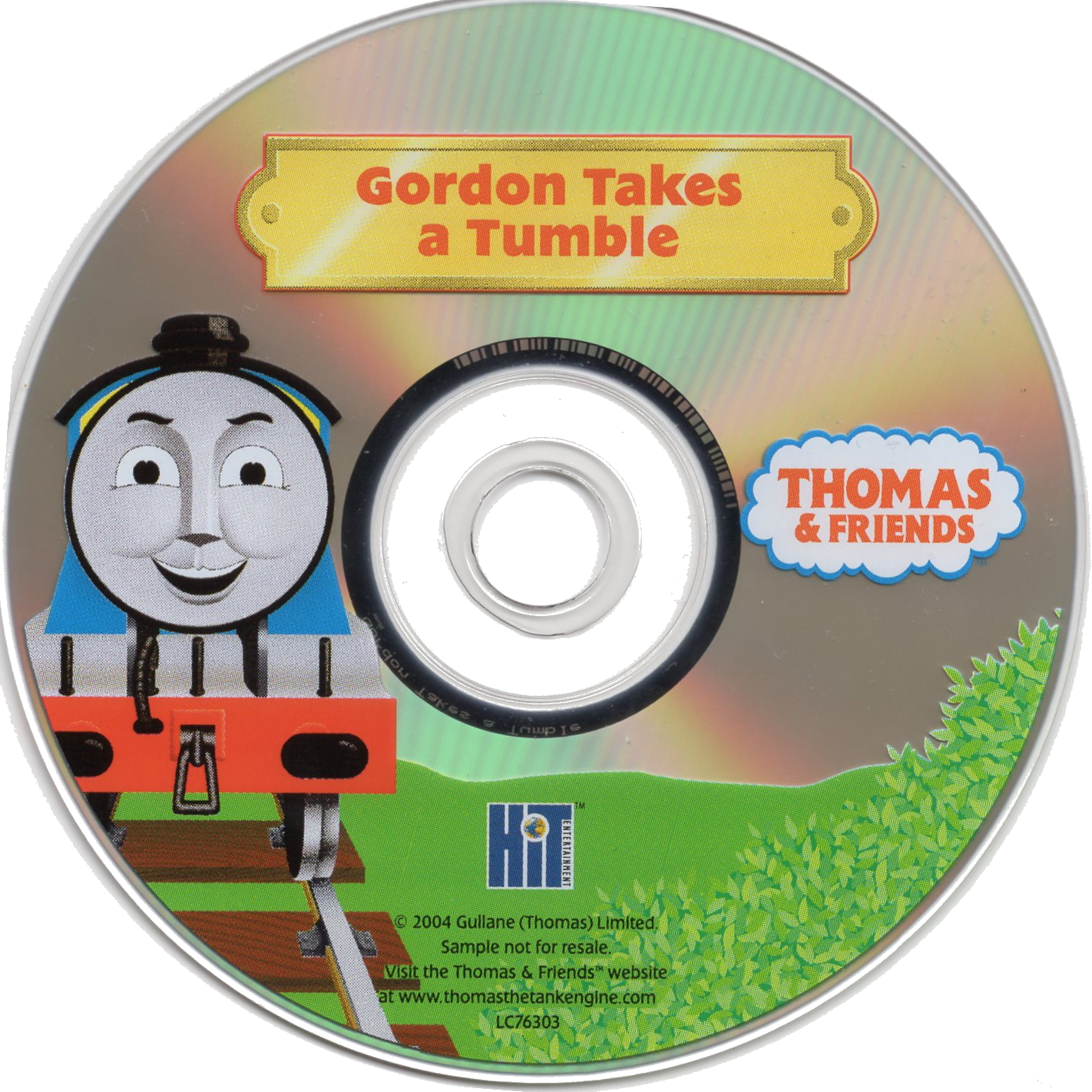 Gordon Takes a Tumble (Take Along DVD)