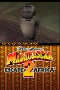 Madagascar Escape 2 Africa DS 129