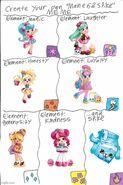 Shopkins Shoppies Mane 6 and Spike Meme