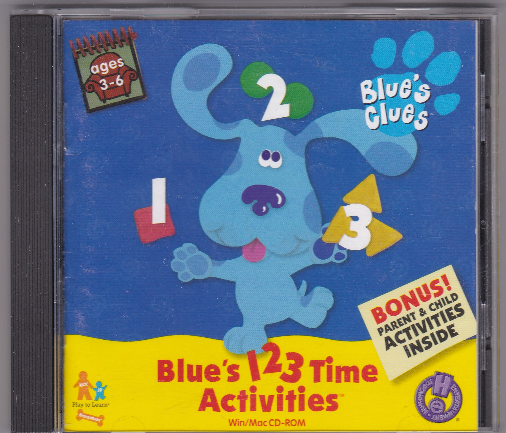 Blue's 123 Time Activities/Gallery