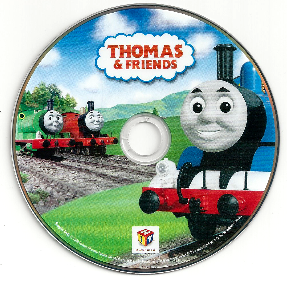 Thomas and Friends 2008 Sampler DVD