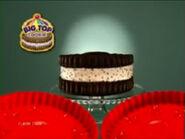 Big Top Cookie Commercial Sound Ideas, CHILDREN, CROWD - SMALL STUDIO AUDIENCE OF CHILDREN BIG CHEER, CHEERING 01