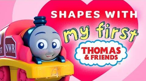 Learn Shapes with Thomas My First Railways Playing Around with Thomas & Friends