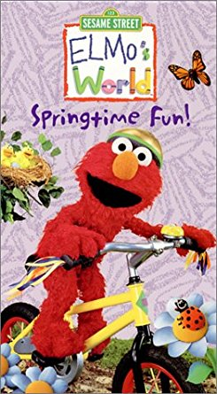 Elmo's World Springtime Fun 2002 DVD