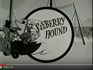 The Huckleberry Hound Show Closing Sound Ideas, ZIP, CARTOON - QUICK WHISTLE ZIP OUT, HIGH,