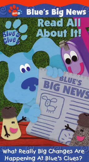 Blue's Big News Volume 1: Read All About It!