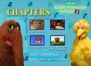 Kids Favorite Songs 2 DVD 2001 Menu Rare Go to Your Favorite Part