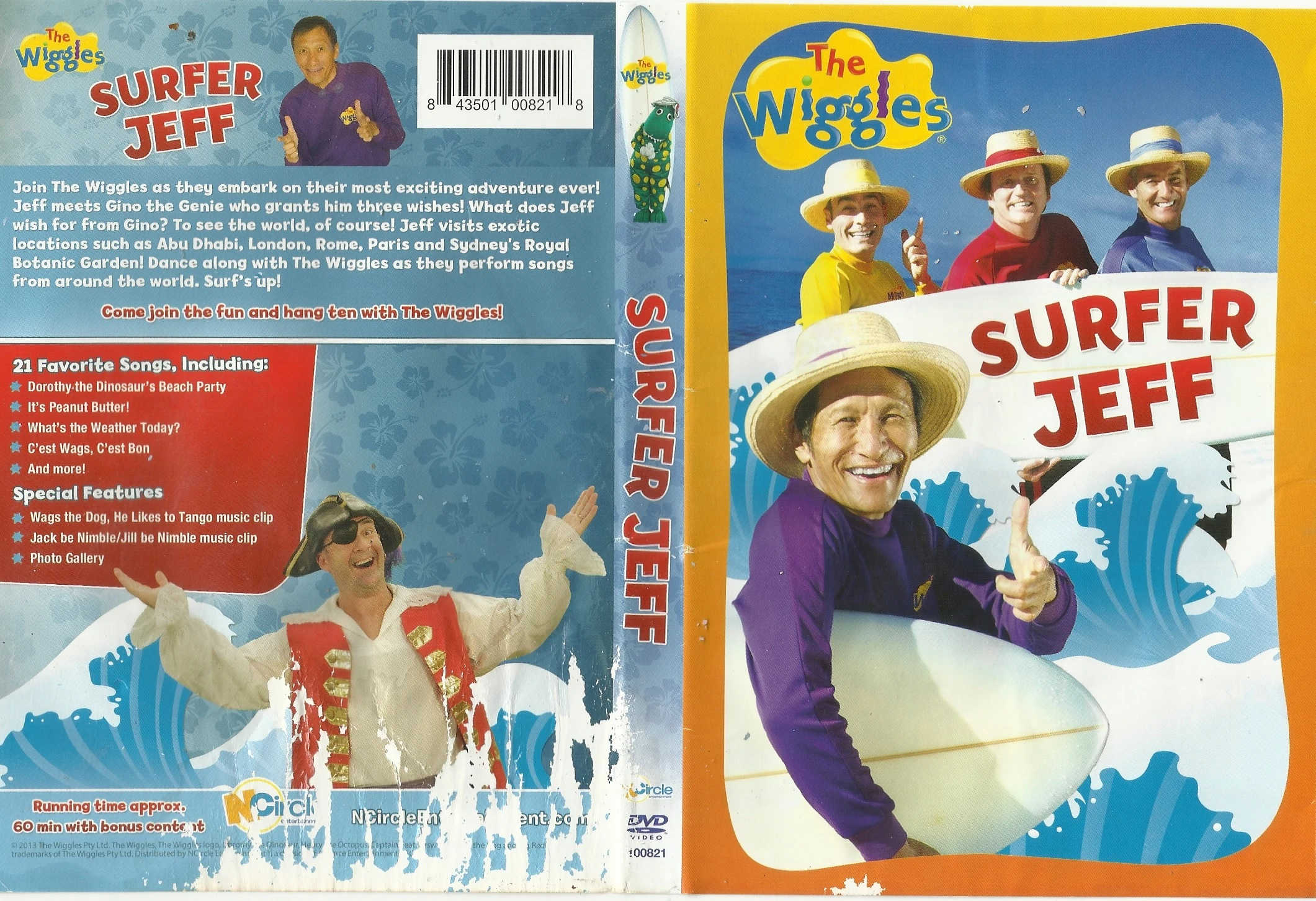 The Wiggles: Surfer Jeff (2012)
