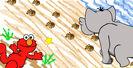 Sesame Street Footprints Sound Ideas, ELEPHANT - ELEPHANT TRUMPETING, THREE TIMES, ANIMAL