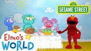 Sesame Street Thanksgiving Elmo's World