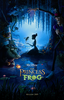 The princess and the frog poster.png